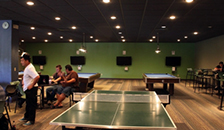 Student game room interior