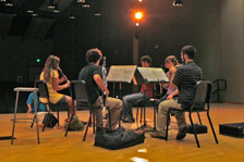 Student recital performing