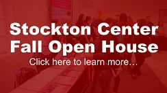 Stockton Center Fall Open House. Click here to lean more...