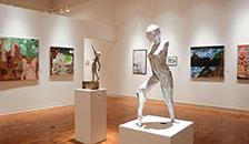 Sculpture in the University art gallery
