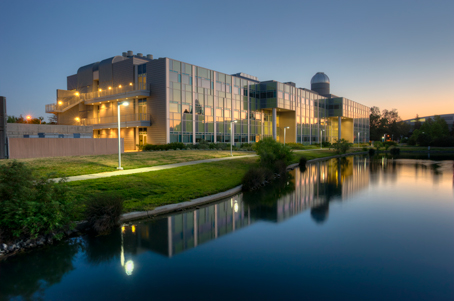Naraghi Hall by Willow Lake