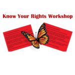 Know Your Rights workshop