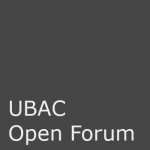 UBAC Open Forums