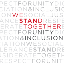 We Stand Together for Unity & Inclusion