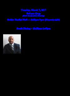 California state black history month Deleon Gray
