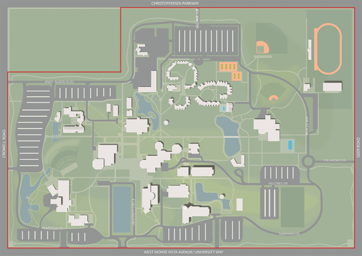 Map of Campus Boundary