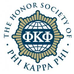 The Honor Society of Phi Kappa Phi Logo