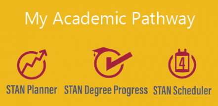 My Academic Pathway. STAN Planner | STAN Degree Progress | STAN Scheduler
