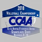 2018 Volleyball Championship, CCAA, Ed & Bertha Fitzpatrick Arena, Nov. 8 - 10